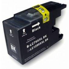 Brother kompatibilna LC1280BK XXL, črna, 75ml