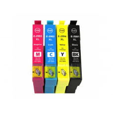 EPSON 29XL , T2996 , T2991 do T2994 , komplet 4 kompatibilne kartuše