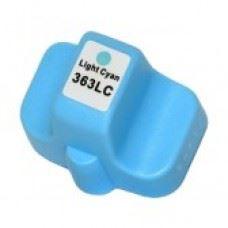 HP 363LC (C8774) light cyan, kompatibilna svetlo modra kartuša 13ml