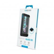 5D ukrivljeno zaščitno steklo kaljeno za iPhone XS / iPhone X / iPhone 11 Pro , bela