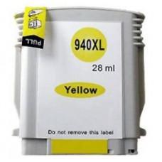 HP 940Y XL, kompatibilna rumena kartuša s čipom 28ml