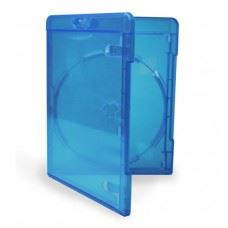 Amaray Blu Ray BD-R škatlica modra 11MM za 1 BD-R, 50 kom