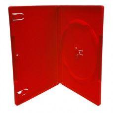 Amaray DVD škatlica 14MM, rdeča, 50 kom