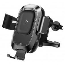 Baseus brezžični QI polnilec in univerzalni nosilec za pametne telefone