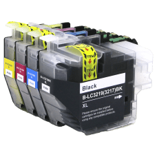 Brother kompatibilne LC3217 XL, LC3219 XL, komplet 4 kartuše