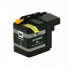 Brother kompatibilna LC529BK XL , DCP-J100 / DCP-J105 / MFC-J200 , črna