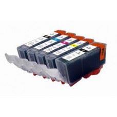 Canon PGI-520 , CLI-521 , komplet 5 kompatibilnih kartuš s čipom
