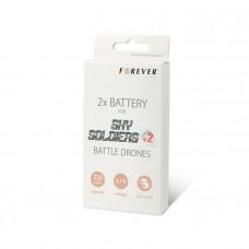 2x dodatna baterija za Forever Sky Soldiers V2 drona