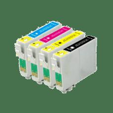 EPSON T1305 , T1301 do T1304 , 13XL , komplet 4 kompatibilne kartuše