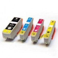 EPSON 24XL , T2431 do T2434 , komplet 4  kompatibilne kartuše