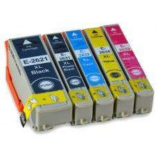 EPSON 26XL , T2621 do T2634 , komplet 5 kompatibilnih kartuš