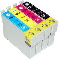 Epson T1285 , T1281 do T1284 , komplet 4 kompatibilne kartuše