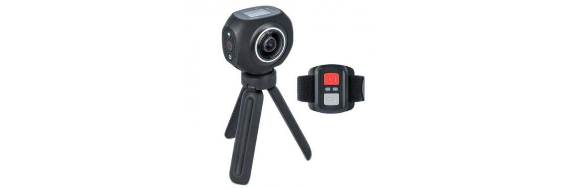 Športna kamera Forever SC-500 , 4K 360 stopinjsko snemanje