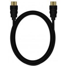 MediaRange HDMI kabel z Ethernetom, 18Gbit, 4k UHD 4096 x 2160, 3D, pozlačeni kontakti, 2M