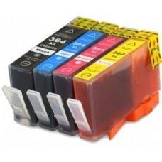 HP 364 XL komplet kompatibilnih kartuš s čipom, 4 kom