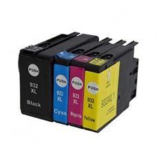 Kompatibilne kartuše HP 932 XL , HP 933 XL , komplet 4 kartuše