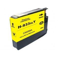 HP 933Y XL, kompatibilna rumena kartuša s čipom 13ml