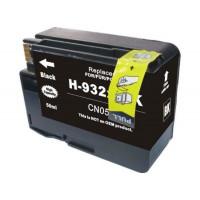 HP 932BK XL, kompatibilna črna kartuša s čipom