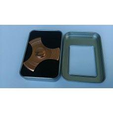 Fidget spinner ročna vrtavka aluminium, metalic zlata barva