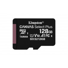 Kingston kartica 128GB Canvas Select Plus microSDXC Class 10 UHS-I