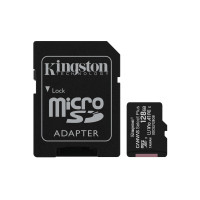 Kingston kartica 128GB Canvas Select Plus microSDXC Class 10 UHS-I + SD Adapter