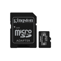 Kingston kartica 16GB Canvas Select Plus microSDXC Class 10 UHS-I + SD Adapter