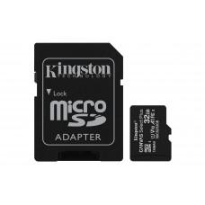 Kingston kartica 32GB Canvas Select Plus microSDXC Class 10 UHS-I + SD Adapter