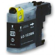 Brother kompatibilna LC123BK , črna kartuša, 16ml