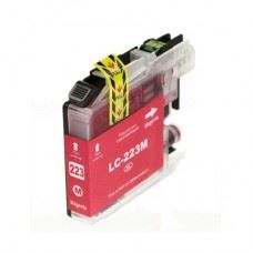 Brother kompatibilna LC223M magenta , rdeča kartuša, 10ml