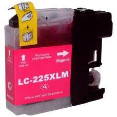 Brother kompatibilna LC225M XL Magenta , rdeča kartuša, 15ml
