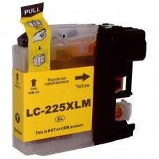 Brother kompatibilna LC225Y XL , rumena kartuša