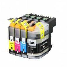 Brother kompatibilne LC227 XL, LC225 XL, komplet 4 kartuše
