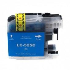 Brother kompatibilna LC525C XL , DCP-J100 / DCP-J105 / MFC-J200 , modra kartuša