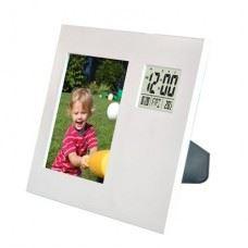 Digitalna vremenska postaja LCD z okvirjem za slike