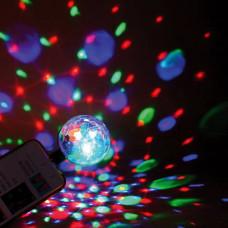 Omega LED disco kroglica Magic