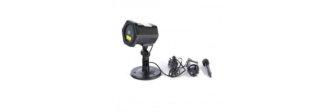 Platinet zunanji LED Božični laser projektor