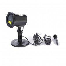 Platinet zunanji LED Božični laser projektor , površina do 280m2