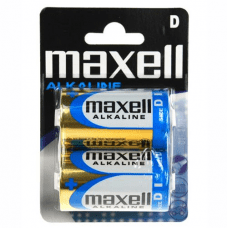 Maxell Alkalne baterije velikost D, LR20  - 2 kom