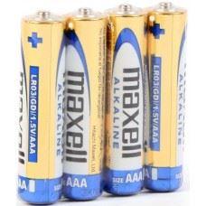 Maxell Alkalne baterije Alkaline Battery LR03/AAA 1,5V, 4 kom