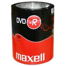 Maxell DVD-R 4.7 GB 16x hitrost, 100 kom spindle