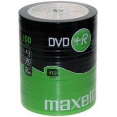 Maxell DVD+R 4.7 GB 16x hitrost - 100 kom