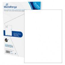 MediaRange večnamenske samolepilne etikete, A4, 210x297mm, bele, 250 nalepk