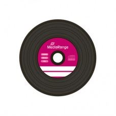 MediaRange Vinyl CD-R 52x 700 MB, vinilka, 50 kom