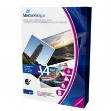 MediaRange foto papir za laserske tiskalnike A4, mat 120g, 100 kom