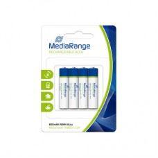 MediaRange polnilne baterije, akumulator NiMH, Micro AAA | HR03 | 1.2V, 4 kom