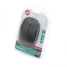 Omega brezžična optična miška 2,4GHz 1000DPI z USB nano receiverjem