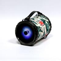 Omega Bazooka bluetooth zvočnik z LED osvetlitvijo + mikrofon za karaoke