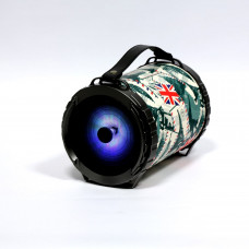 Omega Bazooka bluetooth zvočnik z LED osvetlitvijo, 20W RMS, karaoke