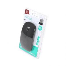 Omega brezžična optična miška OM-414 2,4GHz 1000DPI z USB nano receiverjem, črna