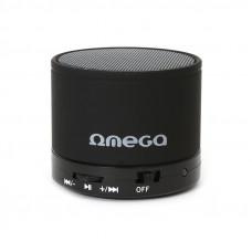 OMEGA OG47B ALU bluetooth zvočnik V3.0 z FM radijem